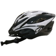 Coyote Sierra Dial Fit Adult Cycling Helmet - White