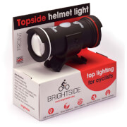 Brightside Topside USB Rechargeable Front Or Rear Helmet Bike Light