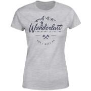 Wanderlust Women's T-Shirt - Grey