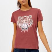 KENZO Women's Classic Tiger Single T-Shirt - Red