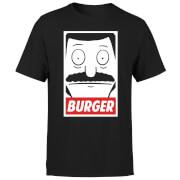 Bobs Burgers Propaganda Bob Burger T-shirt - Zwart