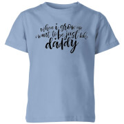 My Little Rascal When I Grow Up - Baby Blue Kids' T-Shirt