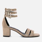 Sol Sana Women's Sugar Suede Heeled Sandals - Dove