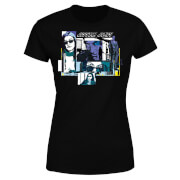 Marvel Knights Jessica Jones Comic Panels Women's T-Shirt - Black