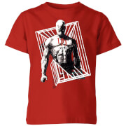 Marvel Knights Daredevil Cage Kids' T-Shirt - Red