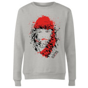 Marvel Knights Elektra Face Of Death Women's Sweatshirt - Grey