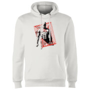 Marvel Knights Daredevil Cage Hoodie - White