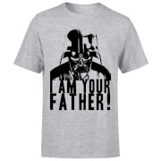 Star Wars Darth Vader I Am Your Father Confession Men's T-Shirt - Grey