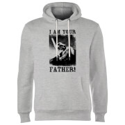 Star Wars Darth Vader I Am Your Father Lightsaber Hoodie - Grey