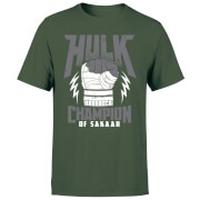 Marvel Thor Ragnarok Hulk Champion Men's T-Shirt - Forest Green