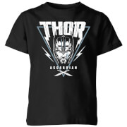 Marvel Thor Ragnarok Asgardian Triangle Kids' T-Shirt - Black
