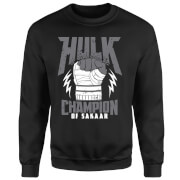 Marvel Thor Ragnarok Hulk Champion Sweatshirt - Black