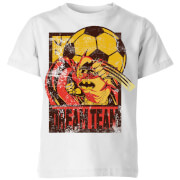 DC Batman Dream Team Punch Kids' T-Shirt - White
