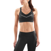Skins Women's High Impact Sports Bra - Black