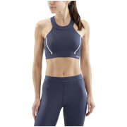 Skins Women's DNAmic Speed Sports Bra - Navy Blue