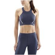Skins Women's DNAmic Speed Sports Bra - Navy Blue