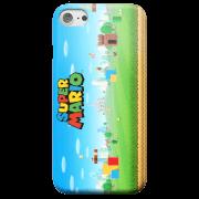 Funda Móvil Nintendo Super Mario Mundo para iPhone y Android