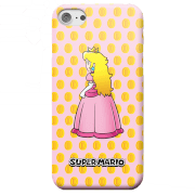 Funda Móvil Nintendo Super Mario Princesa Peach para iPhone y Android