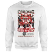 Sweat Homme Deadpool Tue Deadpool Marvel - Blanc
