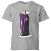 Disney Snow White Queen Classic Kids' T-Shirt - Grey