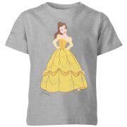 Disney Princess Belle Classic Kids' T-Shirt - Grey