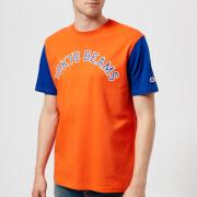 Champion X Beams Men's Crew Neck T-Shirt - Orange
