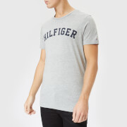 Tommy Hilfiger Men's Short Sleeve Logo T-Shirt - Grey Heather