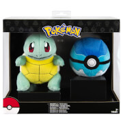 Pokémon Squirtle + Dive Ball Soft Toy