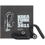Kreafunk bGEM Bluetooth Wireless In-Ear Headphones - Black Edition