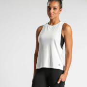 IdealFit Muscle Tank - White