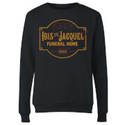 American Gods Ibis And Jacquel Women's Sweatshirt - Black