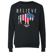 American Gods Believe In Bull Women's Sweatshirt - Black