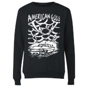 American Gods Car Storm Women's Sweatshirt - Black