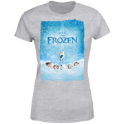 Frozen Snow Poster Women's T-Shirt - Grey