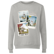 Frozen Olaf Polaroid Women's Sweatshirt - Grey