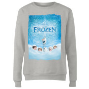 Frozen Snow Poster Women's Sweatshirt - Grey