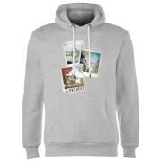 Frozen Olaf Polaroid Hoodie - Grey