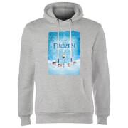 Frozen Snow Poster Hoodie - Grey
