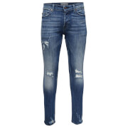 Only & Sons Men's Spun 0456 Slim Fit Jeans - Blue Denim