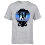 Harry Potter Silhouette Attack Herren T-Shirt - Grau