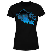 Harry Potter Dementor Silhouette Dames T-shirt - Zwart
