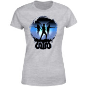 Harry Potter Silhouette Attack Damen T-Shirt - Grau