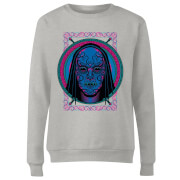 Harry Potter Neon Death Eater Mask Women's Sweatshirt - Grey
