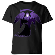 Harry Potter Graveyard Silhouette Kids' T-Shirt - Black