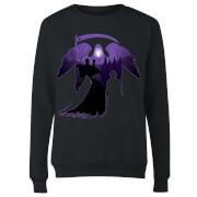 Harry Potter Graveyard Silhouette Women's Sweatshirt - Black