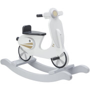 Kids Concept Rocking Scooter - Grey/White