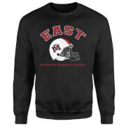 East Mississippi Community College Helmet Sweatshirt - Black