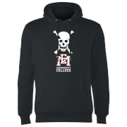 East Mississippi Community College Skull and Logo Hoodie - Black