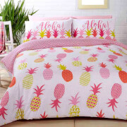Pineapples Duvet Set - Multi