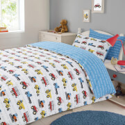 Dreamscene Work Force Duvet Set - Multi